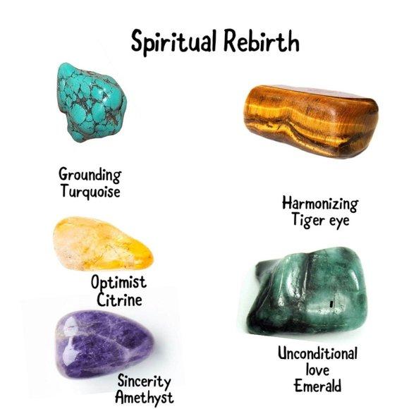 Spiritual Rebirth Kit Crystals
